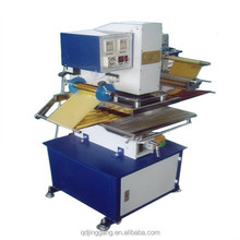 TJ-9 New Condition 220V Electric and Pneumatic Type Hot Stamping Machine Card Leather PVC Plastics Embossing Machine