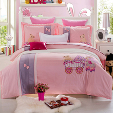applique bedding set,bed cover sweet home,bed covers for wedding