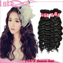 Natural Color Virgin Remy Human Extension 100% Unprocessed Types Brazilian Hair
