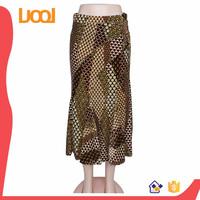latest skirt design pictures snake print long skirt for women