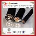 Cables subterráneos de alambre de acero / tipo blindada Cable de alimentación de cobre