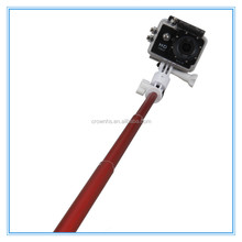 2015 aluminum high quality wireless mobile phone bluetooth selfie stick for nokia lumia for iphone go pro sj4000 smart phone