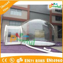 5 m camping inflável clara tenda bolha para venda