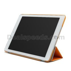 2 In 1 PU Leather Smart Cover + Hard Plastic Back Cover for iPad Air 2