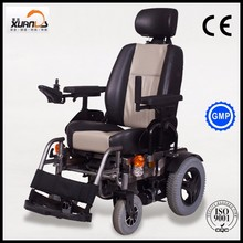heavy duty electric mobility wheelchair for leisure excursions