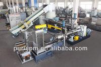 PP PE film recycling extruding machine