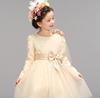 2015 good quality kids wedding dress costume girl party dress children frocks designs