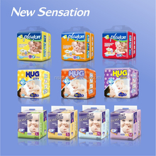 Soft dry and breathable high quality baby diapers nappies