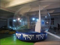 PVC Bubble Inflatable Yard Tent Transparent Camping Tent Outdoor inflatable lawn tent
