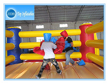 Exciting inflatable boxing ring and glove