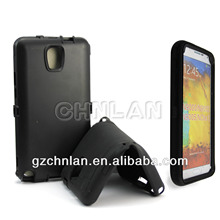 3 in 1 Hybrid combo rugged Case for Samsung Galaxy Note 3 cover wholesale