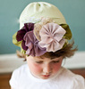 wholesale fancy baby crochet summer hat