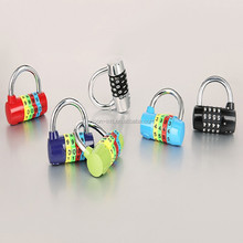 high quality original shape metal code lock. promotional code changeabke locks