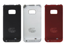 High Capacity 4200mAh External Battery Case for HTC ONE M7