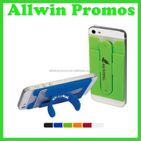 Promotional Silicone Phone Wallet With Stand