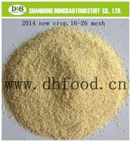 Dry Garlic Granules Dried Garlic Granules Dehydrtated Garlic Granules 8-16M