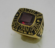 Fashion Jewelry Custom Stainless Steel/Brass Super Bowl Ring