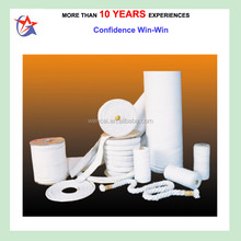 Refractory Ceramic Fiber Textile yarn cloth rope tape sleeve for insulation material