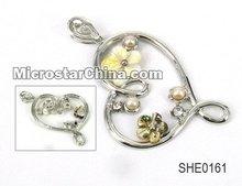 Shell pendant,heart