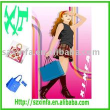 2011 fashion foldable shopping bag