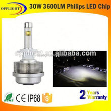 high power led car headlight 9005 30w all in one 2s led headlight no fan car h4 headlight