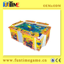 Factory Direct Supply paper money Indoor Arcade Dragon Fish Game Machine For Entertainment