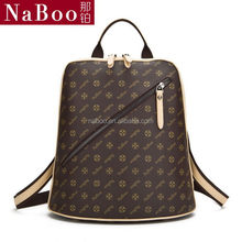 Top quality hot-sale women girl's leisure tote bag backpack