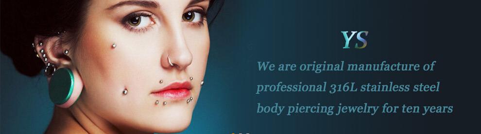 Moda j ias rainbrow piercing na l ngua barra joias de a o for Pierced nipple stretching jewelry