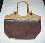 personalized jute reusable shopping bags