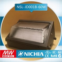 Free Samples 60w modern outdoor led wall pack, led outdoor wall washer rgb light, wall packs meanwell ul driver,