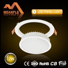 Die-casting Aluminium 12w led panel light,wholesale ,direct from factory