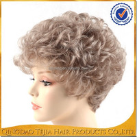 alibaba express wholesale blonde wigs short hair, synthetic wigs for white women