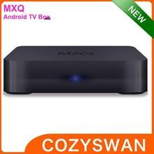 2015 android tv box MXQ KODI 15.0 ADDONS full HD USB WIFI player
