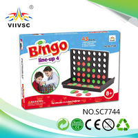 New and hot attractive style board game-02 with good price BINGO(Line-up4)