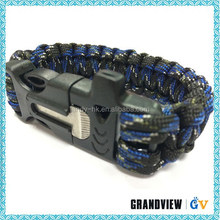 Mini Survival Knife,paracord bracelet with fire starter,survival knife with fire starter