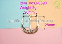 factory price metal belt buckle leather bracelet with metal buckle