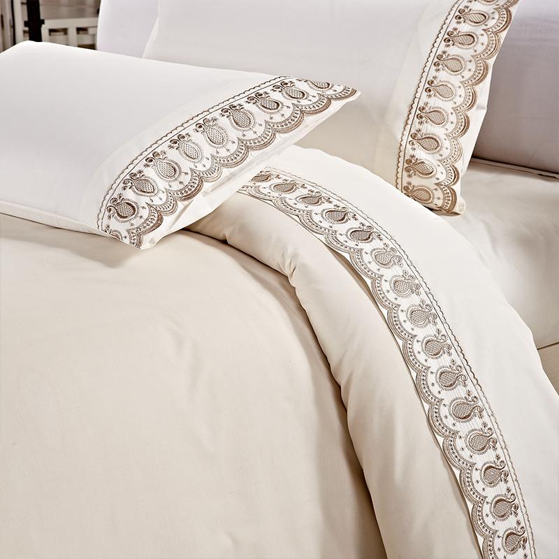 Kosmos Home Textile 100% Cotton Bedding Set Plain Style Bed Sheets ...