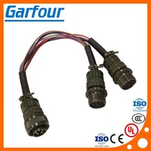 kukdong connector 5pin male to female cable harness wiring
