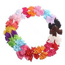 Hot Baby Girls' Boutique Ribbon PinWheel HairBows,Cheerleading Bows/Hair Clips/Bows Hair Pins Hair Accessories