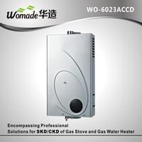 Adopt high-efficiency lpg balanced gas geyser with coated body WO-6023ACCD