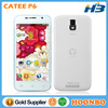 "Touch Screen Mobile Phone Cheap Price Catee Phone Wholesale Cellphone Catee P6 5"" MTK6582 Quad Core With Android 4.4 RAM1G+ROM4G"