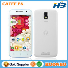 """Touch Screen Mobile Phone Cheap Price Catee Phone Wholesale Cellphone Catee P6 5"""" MTK6582 Quad Core With Android 4.4 RAM1G+ROM4G"""
