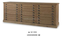 Popular high quality cabinet wooden multi drawers,hotel cabinets design