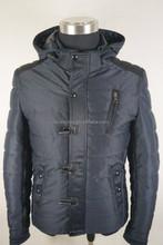 men long black winter coat