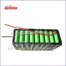 ebike+akku+36v+10ah / 36v 10ah electric bike li ion battery with 18650 cells