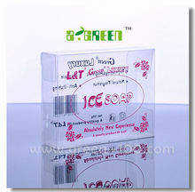 Plastic PVC Packaging Boxes for Gift with Silk-screen Printing