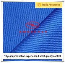 100% cotton proban finishing fire resistant fabric