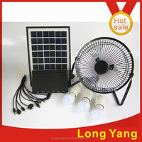 soalr lighting kits soalr energy system with fan USB charger 3LED lights new-solar energy systems