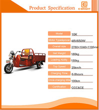 works gasoline tricycle with 3C certificate