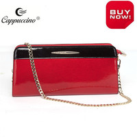 New Women Ladies fashion designer Patent Epi leather Clutch Bag,Party Prom Bridal Evening Clutch Bag UK
